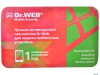 Антивирус Dr.Web Mobile Security/Android/12мес/1ПК