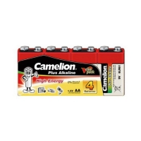 Батарейка 9V CAMELION Plus Alkaline (6LR61-SP4), крона, 4шт.