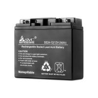 Аккумуляторная батарея 12V 24Ah (175*165*125) SVC VP1224