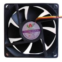 Вентилятор для корпуса CHENRI CR8025, 80х80мм, 3/2pin