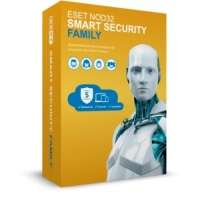 Антивирус ПО Антивирус ESET NOD32 Smart Security Family 5 устр.