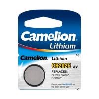 Батарейка CAMELION Lithium CR2025-BP5, 3V/220mAh