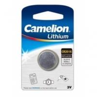 Батарейка CAMELION Lithium CR2016-BP5, 3V/220mAh