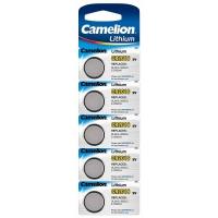 Батарейка CAMELION Lithium CR2016-BP5, 3V/220mAh, 5шт