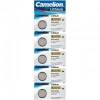 Батарейка CAMELION Lithium CR1616-BP5, 3V/220mAh, 5шт