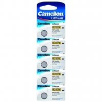 Батарейка CAMELION Lithium CR1220-BP5, 3V/220mAh, 5шт