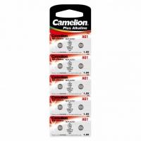 Батарейка CAMELION Alkaline AG1-BP10, 1,5V, 10шт