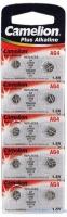 Батарейка CAMELION Alkaline AG4-BP10, 1,5V, 10шт