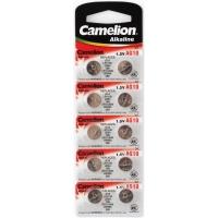 Батарейка CAMELION Alkaline AG10-BP10, 1,5V, 10шт