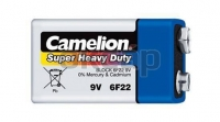 Батарейка крона 9V CAMELION 6F22-BP1B, 680 мАч