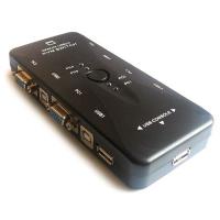 Переключатель KVM Switch KVM-4UK, 4port/ USB2.0
