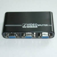 Переключатель VGA splitter, 4port/1920*1440/Power/VGA-104A