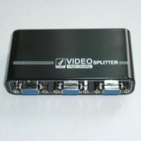 Переключатель VGA splitter, 4port/1920*1440/Power/VGA-104A