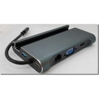 Подставка для телефона USB-C на 3*USB3+HDMI+VGA+LAN+USB-С