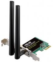 Беспроводной сетевой адаптер ASUS PCE-AC51, 433M, PCI-e
