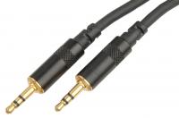 Интерфейсный кабель MINI JACK 3.5 - 3.5 мм. iPower iAUX-B1