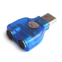Переходник V-T CN26 с USB на 2*PS/2