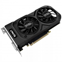 Видеокарта 4Gb Palit GeForce GTX 1050Ti DUAL, 128bit, DDR5