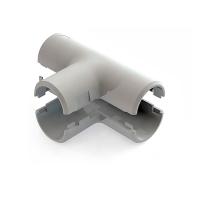 Тройник соединительный для трубы РУВИНИЛ Т01216, 16 мм