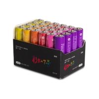 Батарейки Xiaomi ZI7 Rainbow АAA, 24шт