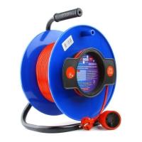 Удлинитель на катушке PowerCube PC-B1-K-50, 10А/2,2кВт, 50м,1роз