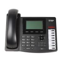Цифровой проводной телефон D-Link VoIP DPH-400GE