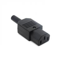 Разъем/штекер IEC320-C13, 10A/250V/F