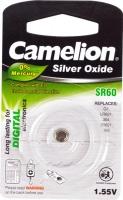 Батарейка CAMELION Silver Oxide SR60-BP1, 1.55V