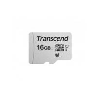 microSD Transcend  16Gb,TS16GUSD300S, класс10, (адаптер SD)